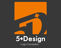 5+Design LOGO Conception │ By AKDesigner