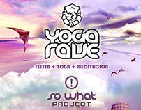 Diseño de Identidad | Yoga Rave & So What Project
