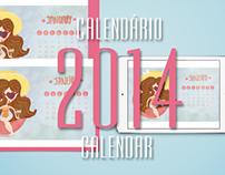 2014 Calendar/  Calendário