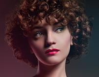 Plastic skin retouch