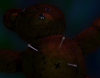 Shadowman's Voodoo Teddy Bear