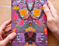 Libro visual de ilustradores de Bicicleta Sem Freio