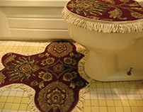 Toilet Seat Carpet