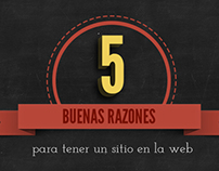 5 Buenas razones para tener un website