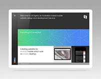 LB Digital. Responsive CSS Portfolio Website