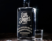 Evil Spirits – Branding, packaging & advertising