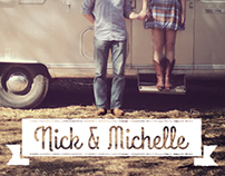 Wedding Invitation: Nick & Michelle
