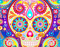 Day of the Dead Sugar Skulls by Thaneeya McArdle