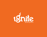 Ignite Development Logo Design