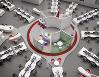 Saffron Building Society Office Visualisation
