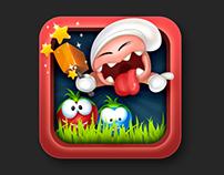 Tomato mash game graphic
