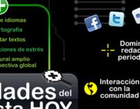 Infografía Habilidades del Periodista Hoy
