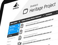 Invesco Heritage Portal
