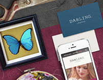 Darling London - Website & Identity