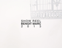Showreel 2013 - Benoit Marc