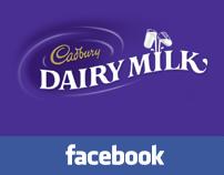 Cadbury Dairy Milk - Facebook Landing Tab