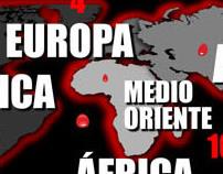 Infografía Periodistas en la mira