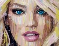 Digital painting Splatter paint Effect