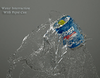 Water Interaction with can