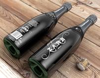 Zarb Champagne concept bottles