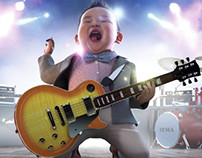 Son's Rock Concert