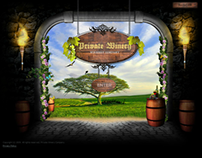 Winery Company Dynamic Flash Template