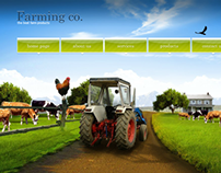 Agriculture Dynamic Flash Template
