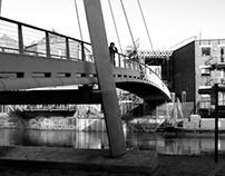 Footbridge-Street Photography