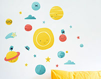 Made of Sundays wall decals