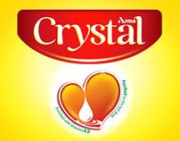 Crystal oil Re-Branding