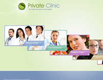Private Clinic Dynamic Flash Template