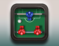 Foosball Icon Design