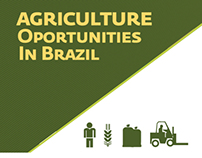 Agriculture Oportunities in Brazil - infographic