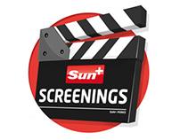 Sun+ Screenings Logo