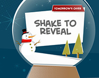 Christmas Snow Globe - Interactive Promotion