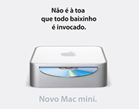 Job: Apple MacMini | Peça fantasma | Ano: 2004