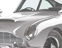1963 DB5 Astin Martin