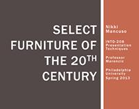 Furniture Sketch Booklet