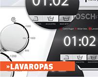 Diseño de Lavaropas