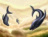 Dolphins Flight