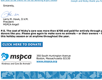 Email Fundraising - MSPCA
