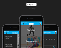 BaziFit UX Design & Branding