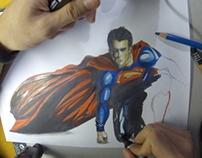 Superman - Speed painting Man of Steel