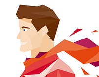 Low Poly illustrations for MSK Insurance Company