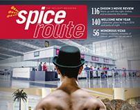 SPICE ROUTE (INFLIGHT MAGAZINE) RE-DESIGNED