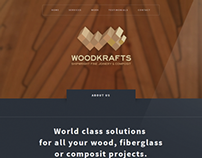 Woodkrafts - Identity & Website