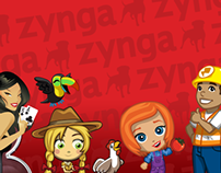 Zynga Player Support Website Redesign