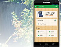 Geemo : Search and Save Non-GMO Food Products