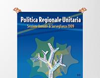 Cartelería  |  Evento Politica Regionale. Ancona