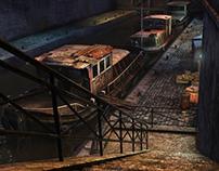 Paris - Canal (3D Scene)